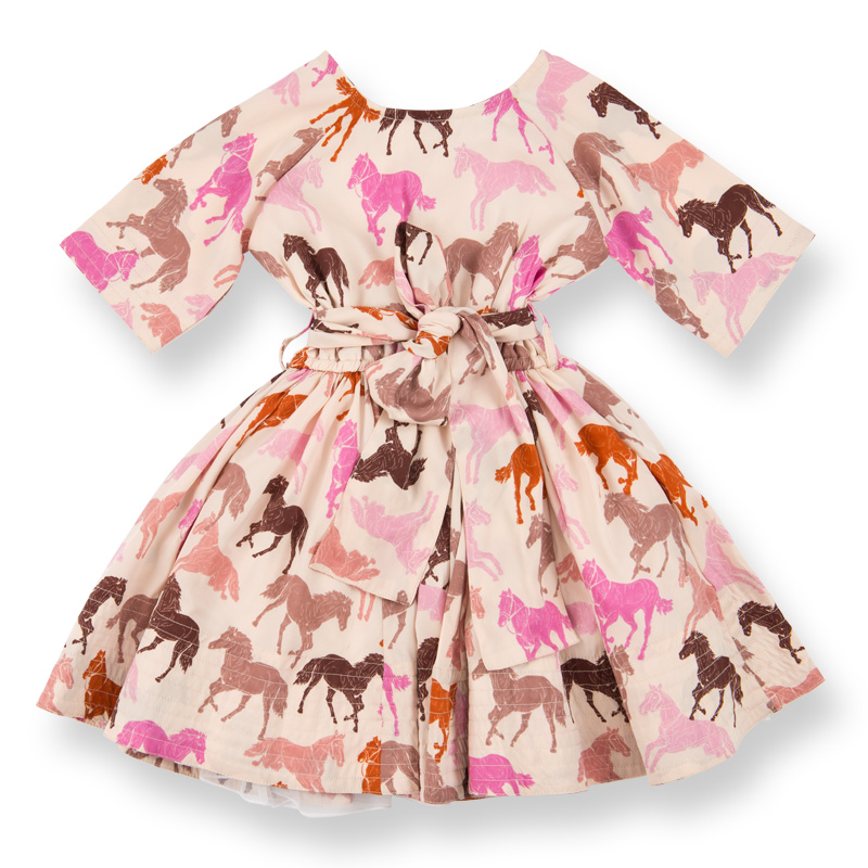 Siona dress pink horse