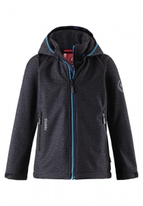 REIMA Softshell Jacke Zayak- dark grey