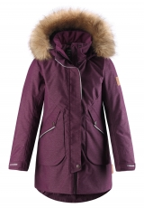 REIMA Winterjacke Inari - deep purple