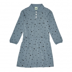 FUB Kleid aus Wolle - dusty green blue