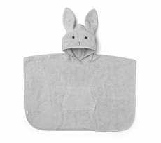 LIEWOOD Bade Poncho Rabbit - grey