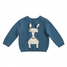 STELLA MCCARTNEY KIDS Pullover Horse - blue