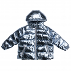 STELLA MCCARTNEY KIDS Winter Jacke - metallic