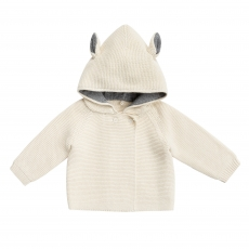 STELLA MCCARTNEY KIDS Strickjacke - creme