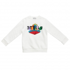 STELLA MCCARTNEY KIDS Sweatshirt - off white