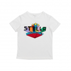 STELLA MCCARTNEY KIDS T-Shirt - weiss
