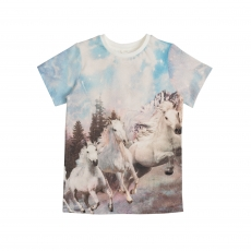STELLA MCCARTNEY KIDS T-Shirt Riding Horses