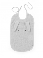 LIEWOOD Lätzchen Theo Rabbit - dumbo grey