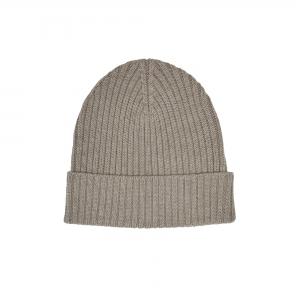 FUB Mütze Wolle - beige melange
