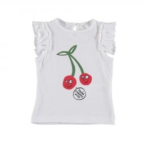 STELLA MCCARTNEY KIDS T-Shirt Baby Kirschen