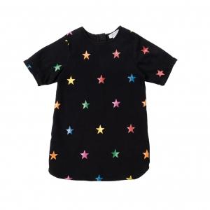 STELLA MCCARTNEY KIDS Kleid Denim Stars