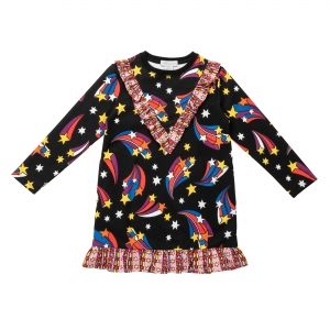 STELLA MCCARTNEY KIDS Sweatkleid Stars