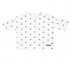 BELLYBUTTON T-Shirt Krönchen - weiss