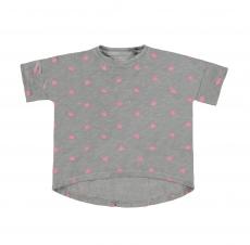 BELLYBUTTON T-Shirt Krönchen - grau pink