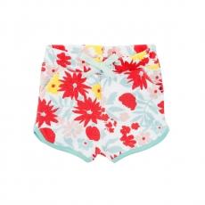 PETIT BATEAU Shorts Blumen - bunt