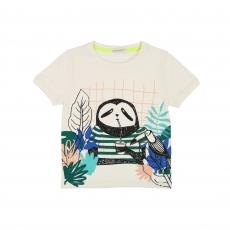 BILLYBANDIT T-Shirt mit Print - elfenbein