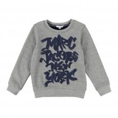 LITTLE MARC JACOBS Sweatshirt - graumeliert