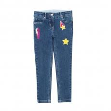 STELLA MCCARTNEY KIDS Jeans Badges - blue