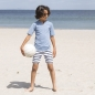 Mobile Preview: PETIT CRABE UVP Swimshirt - petrol