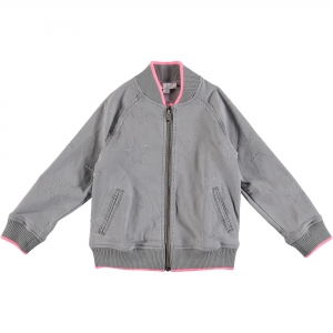 STELLA MCCARTNEY KIDS Jacke Mini Me - grau