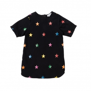STELLA MCCARTNEY KIDS Kleid Denim Stars