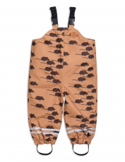 MINI RODINI Hose Edelweiss Mouse - brown